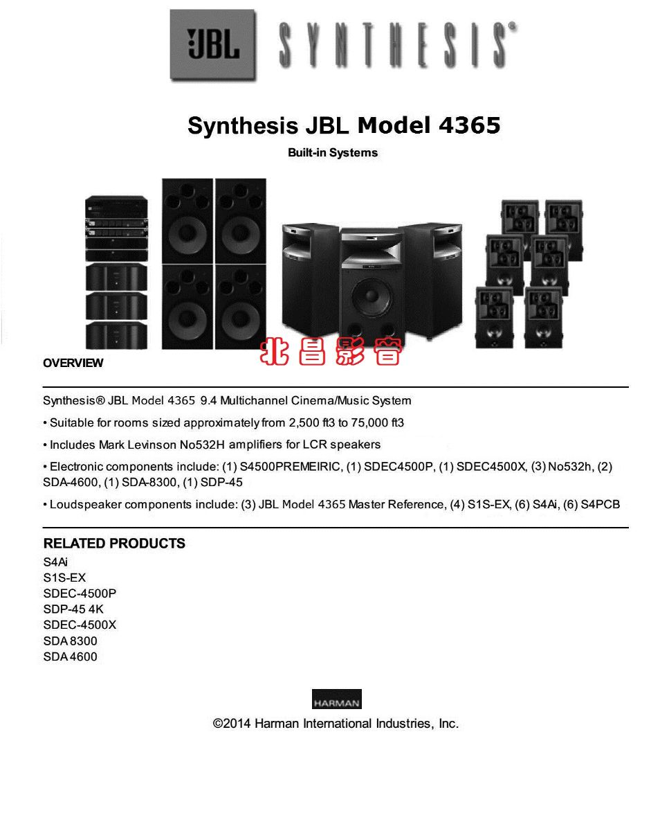 Synthesis Model4365系统